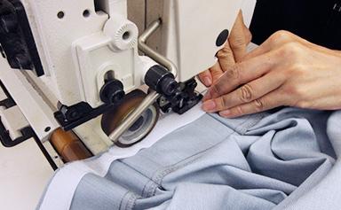 縫製と検尺 イメージ
