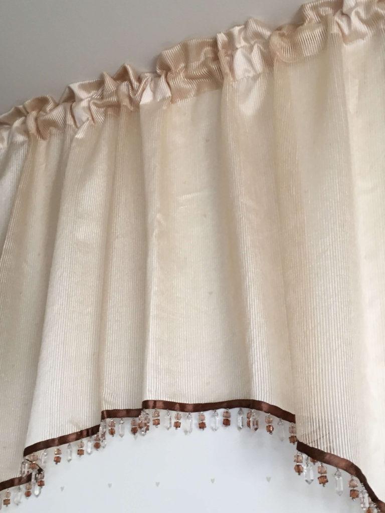 アーチ型カフェカーテン